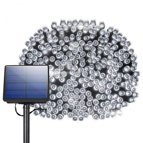 200 LED Solar String Lights, Litom Outdoor Solar Decor Powered Lights review