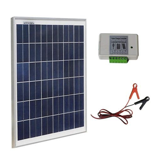 ECO-WORTHY 20W 12V IP65 Solar Panel Kit for car batteries review