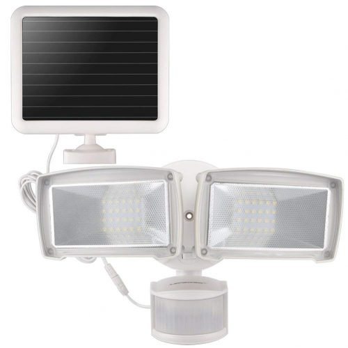 LEPOWER solar led security light review