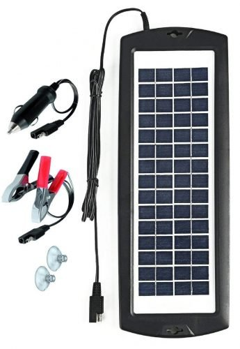 Sunway Solar Car Battery Charger 12V Battery Trickle Charger review