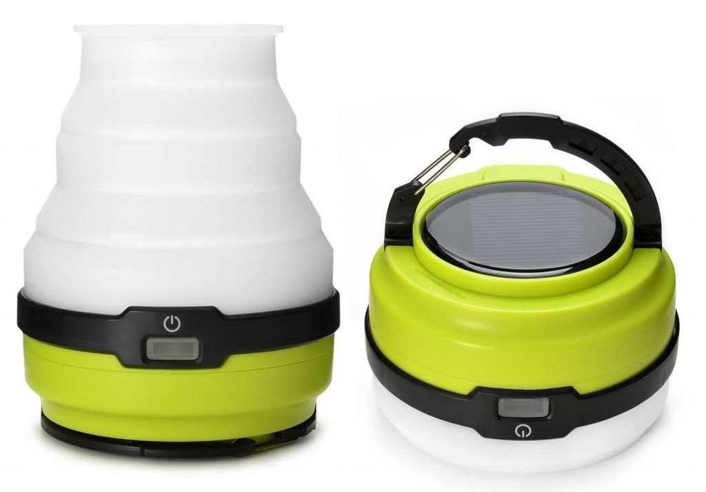odoland usb rechargeable solar lantern review