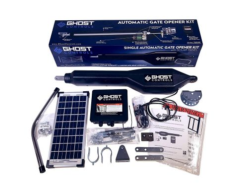 Ghost Controls TSS1XP Heavy-Duty Solar Single Automatic Gate Opener Kit review