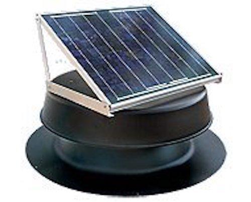 natural light solar attic fan review