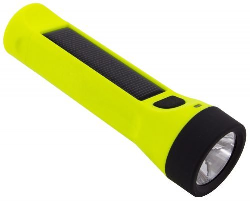 Hybridlight Journey Solar Rechargeable 160 Lumen LED Waterproof Flashlight