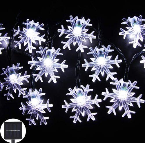 Inngree Solar String Lights 20 ft 30 LED Snowflake review