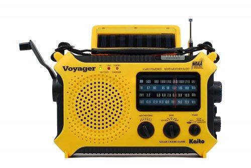 Kaito KA500 all in one flashlight solar radio crank