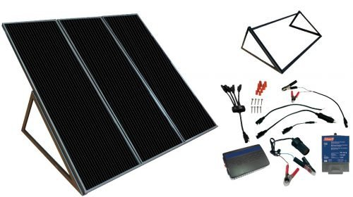 Sunforce 58050 55 Watt Coleman Solar Power Generator Kit