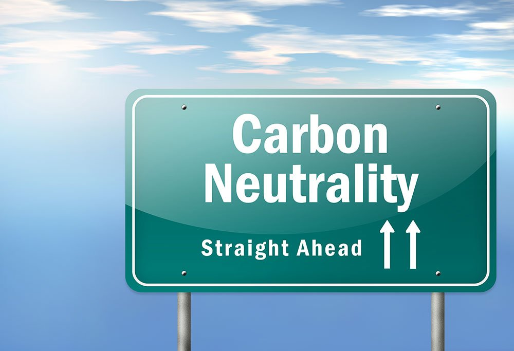 carbon neutrality straight ahead