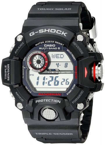 Casio Mens GW9400Rangeman G-Shock Solar Atomic Watch