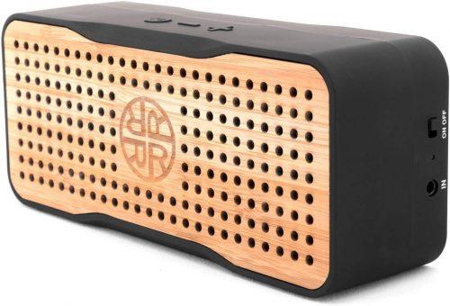 Portable Wireless Bluetooth Bamboo Speaker