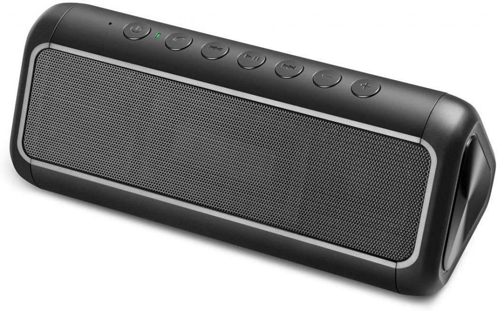 soluser Solar Bluetooth Speaker with 5000mAh Power Bank