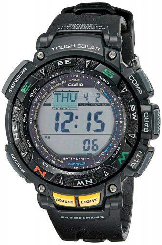 Casio Mens Pathfinder Triple Sensor Multi-Function Sport Watch