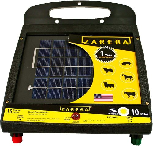 Zareba ESP10M-Z Solar Charger