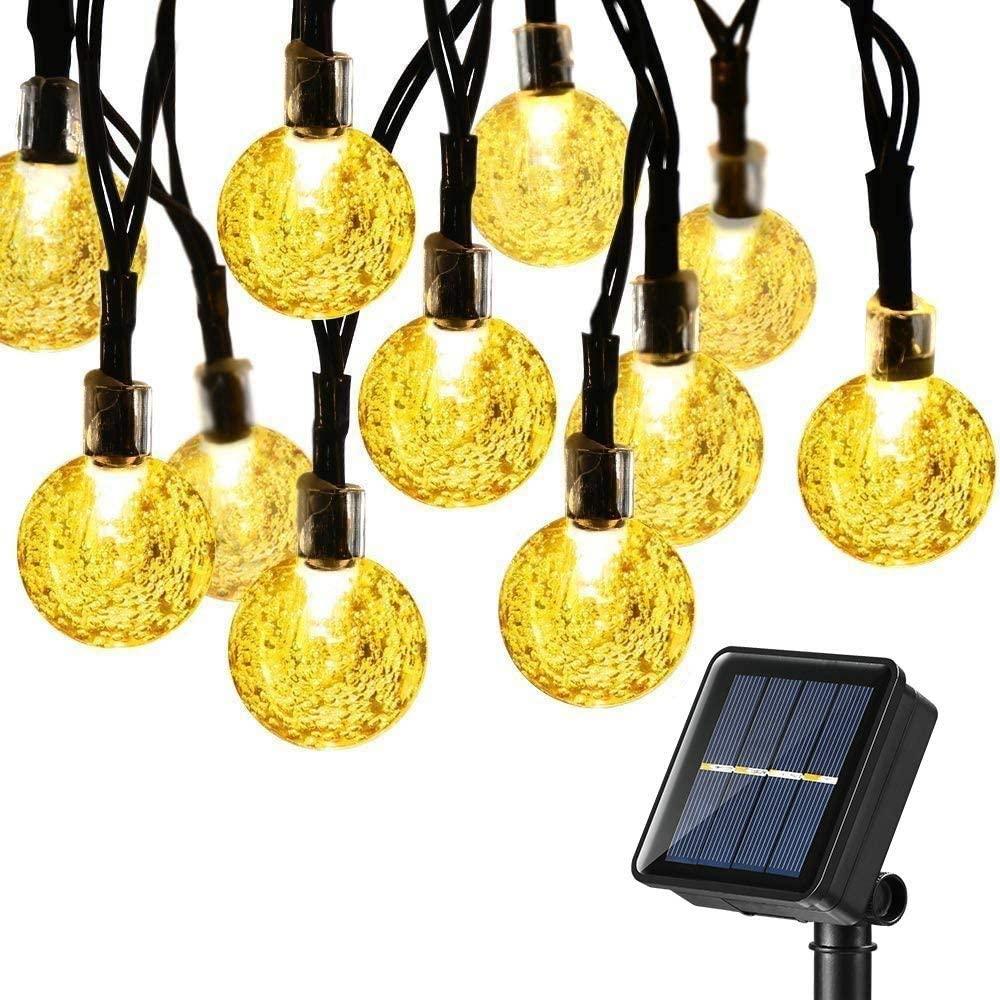 joomer Upgraded Globe Solar String Lights